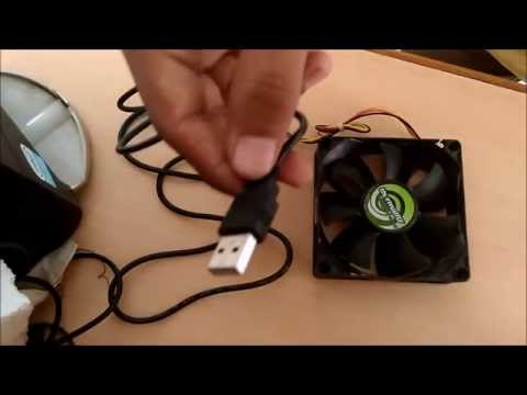 [DIY] Turn CPU Fan into Desk Fan OR USB Fan