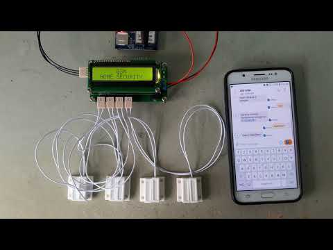 Project Arduino GSM Home Security