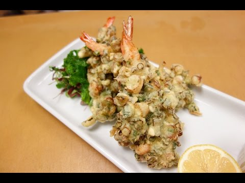 Special Shrimp Tempura and Tempura Batter Recipe - How To Make Sushi Series