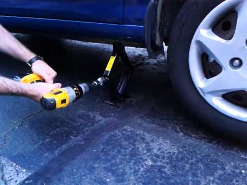 Car Jack Hack - the smartest, easiest and fastest way to change a tire