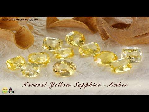 Buy Finest Pukhraj Stone Price per carat at Gemstoneuniverse