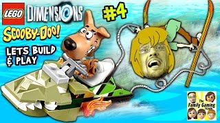 Lets Build & Play LEGO Dimensions #4: Like, Hang on Scoob!  Shaggy, Scooby, Mystery Machine & Snack