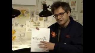Peter Hannan Interview/Robert Porter Draws CatDog (1999) - Nickelodeon BrainBender