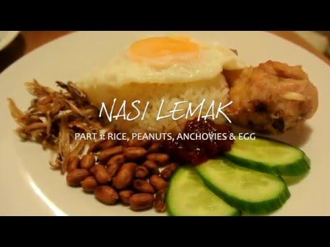 Homemade Nasi Lemak (Part 1) || Learn How To Make Coconut Rice Using A Rice Cooker!