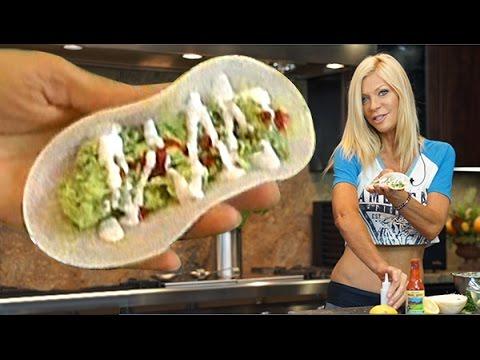 Jicama Taco Recipe- Fast & Easy, Super Healthy, with Cara Brotman