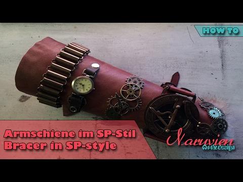 How To Worbla: Armschiene im SteamPunk-Stil / Bracer made in SteamPunk-style