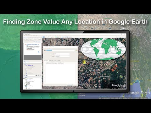 Finding Zone Value Any Location in Google Earth