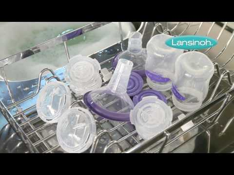 How to Clean the Lansinoh Double Electric Breast Pump