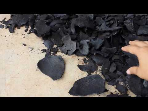 Listen to the sounds low moisture coconut shell charcoal