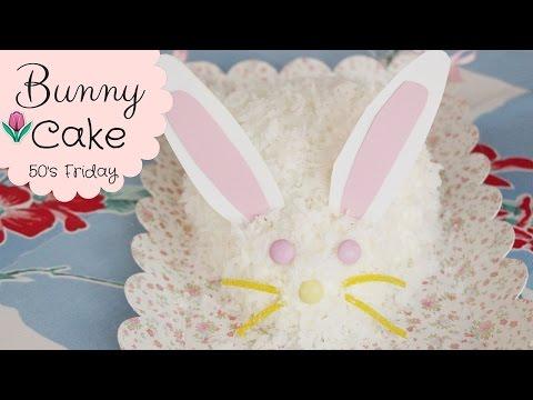 How To Make A BUNNY CAKE! Easter Bunny Cake!