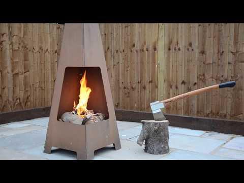 Jotul Terrazza Outdoor Chimenea - Fireplace Products
