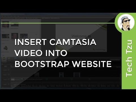 Insert Camtasia Video into Website