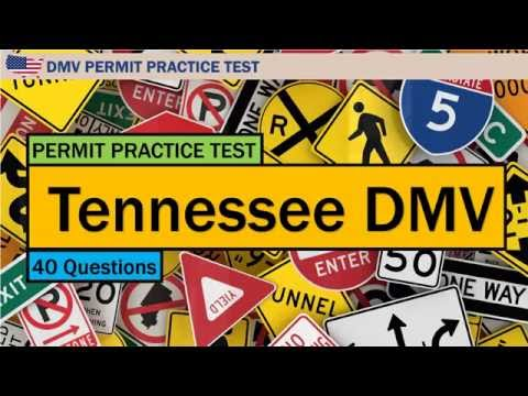 drivers permit practice test tn