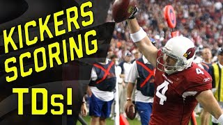 Kickers and Punters Scoring Touchdowns! | NFL Highlights