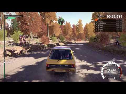 DiRT 4 gameplay career CRASH
