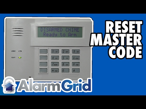Honeywell VISTA: Resetting or Changing the Master Code