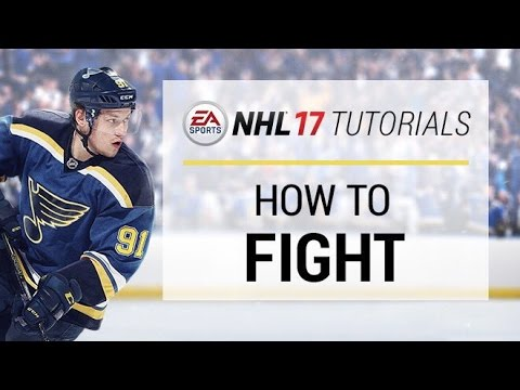 How To Win Fights In NHL 17 | NHL 17 Tutorials