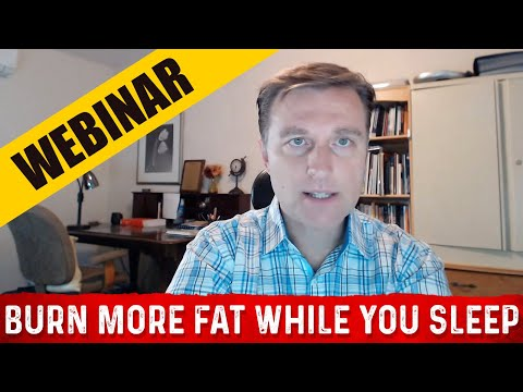 How to Burn More Fat While You Sleep Webinar