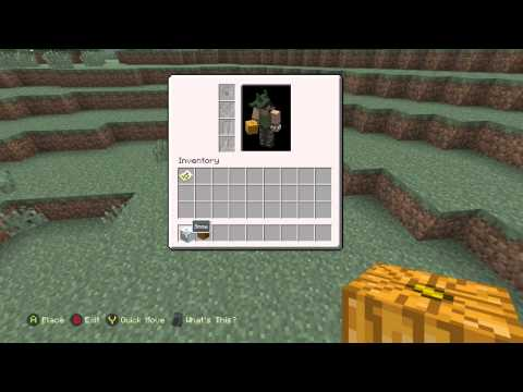 Minecraft Xbox One Edition: How to make a Snowman