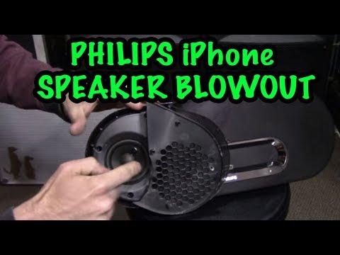Philips iPhone Speaker Teardown & Blowout