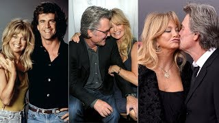 These Photos Capture The Changing Face Of Goldie Hawn And Kurt Russell's Romance Over The Decades