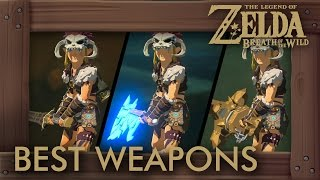 Zelda Breath of the Wild - Best Weapons (Two-Handed Swords by Damage + Durability)
