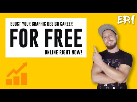 BOOST Your Graphic Design Career FOR FREE Ep1 | Free Portfolio Platforms | Satori Graphics