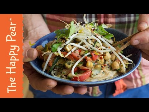 Simple Stir Fry Satay | Cheap Easy Vegan | THE HAPPY PEAR
