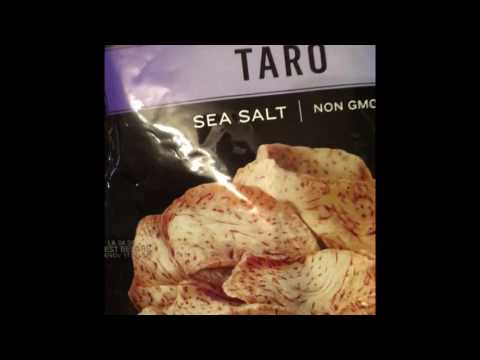 Taro chips!