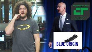 Jeff Bezos Sells $1B in Amazon Stock Annually to Fund Blue Origin | Crunch Report
