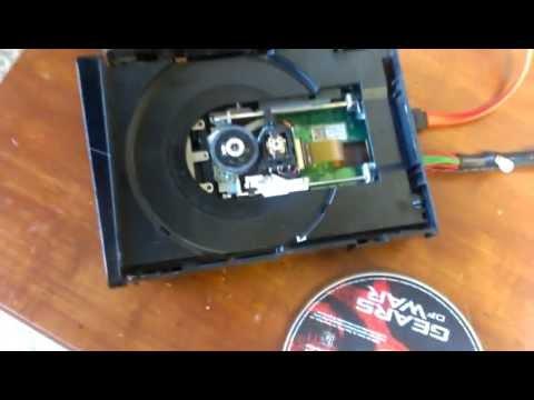xbox 360 Slim Open Tray Error - disk won't spin no fix