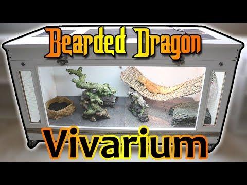 Homemade Bearded Dragon Vivarium