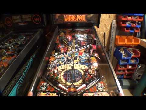 Black Rose Pinball Machine