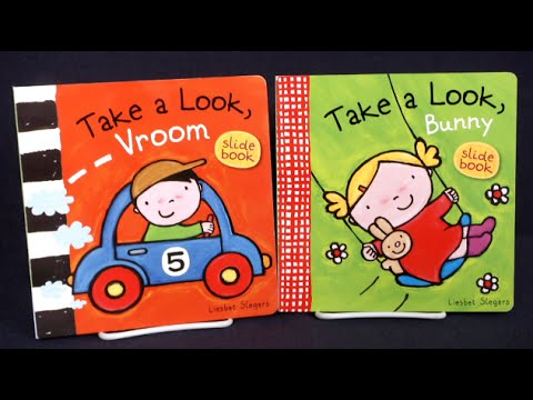Take a Look Vroom & Take a Look Bunny from Clavis Books