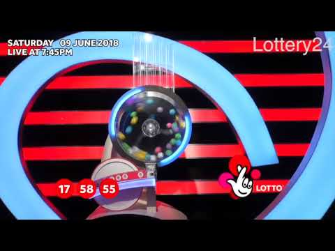 2018 06 09 UK lotto Numbers and draw results