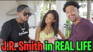 J.R. SMITH In REAL LIFE