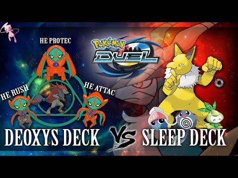 HYPNO MAKING SLEEPING DECKS VIABLE, POKEMON DUEL KAHENKIO DECK IDEAS, SLEEP DECK VS DEO DECK