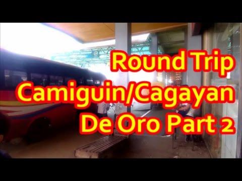 Round Trip Camiguin / Cagayan De Oro  Part 2 Non AirCon Bus - CDO Bus Terminal - Demiren Hotel