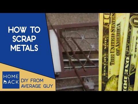 Scrap metal recylcing   Get paid for your scrap metal