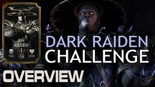 Dark Raiden Challenge (NORMAL) Detailed Review. MKX Mobile (IOS/Android)