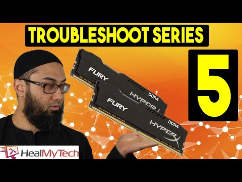 Troubleshoot Series Part 5 | How To Test Ram Memory | Dead Faulty Ram Live Beep Codes Test