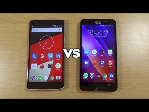 Asus Zenfone 2 ZE551ML VS OnePlus One - Review