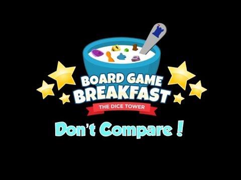 Board Game Breakfast  - Don't Compare!