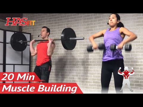 20 Minute Bodybuilding Back Workout to Build Muscle at Home - Muscle Building Back Exercises Routine