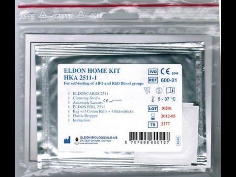Blood Group Test / Тест группы крови