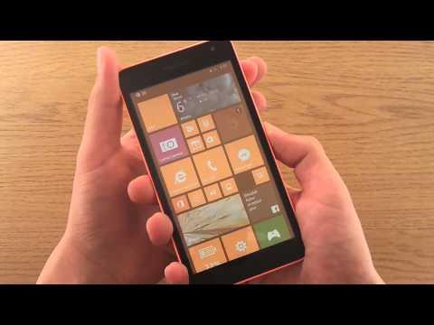 Microsoft Lumia 535 - How to take a screenshot!