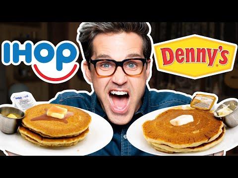 IHOP vs. Denny's Taste Test | FOOD FEUDS