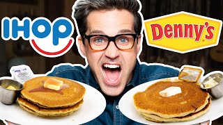 IHOP vs. Denny's Taste Test | FOOD FEUDS