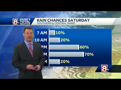Rain will impact your holiday plans
