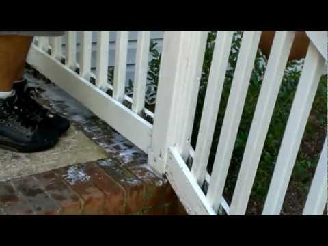 How to paint hand rails, preparation